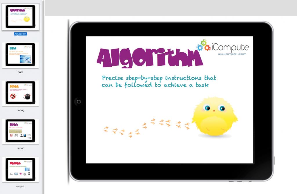 Primary Computing Keywords Poster