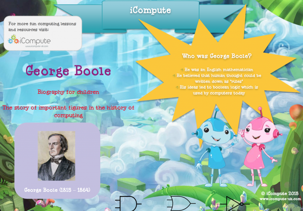 George Boole biography for kids