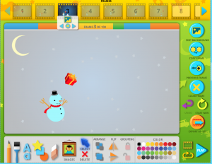 Christmas Animated Snowman