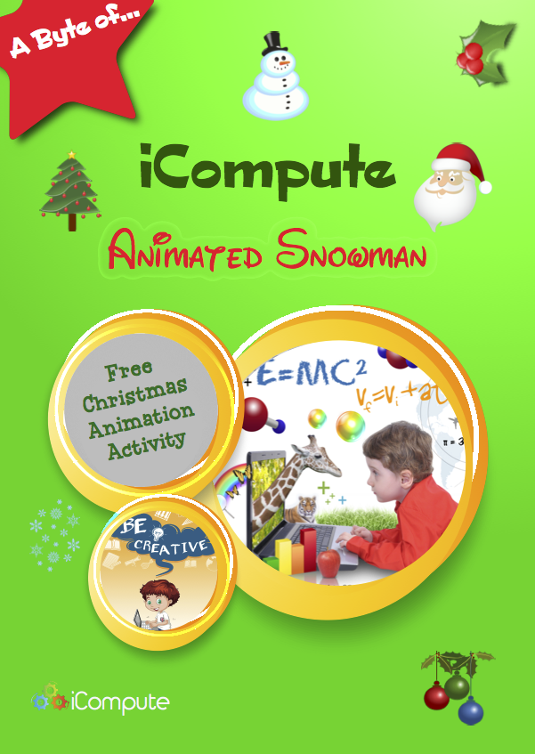 Christmas Animated Snowman Lesson