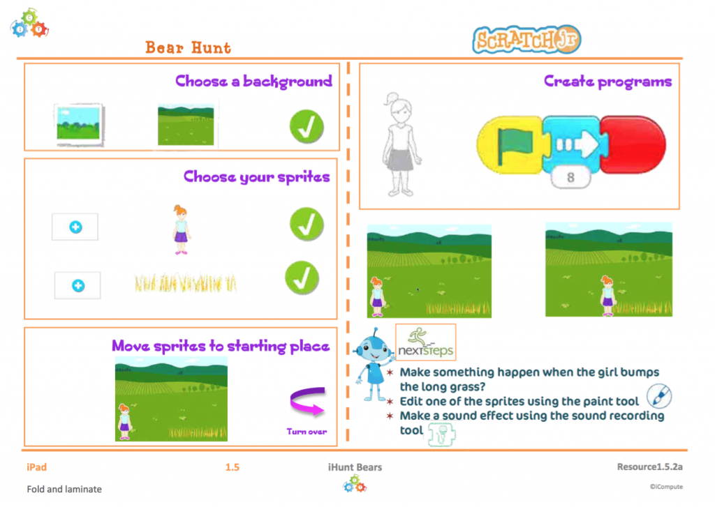 KS1 Computing Support Card