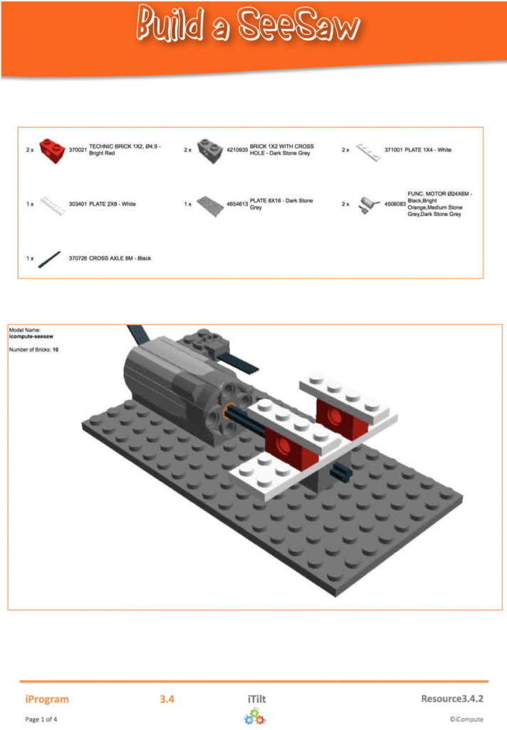 LEGO Build Instructions