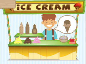 Free lesson: ice-cream simulation activity
