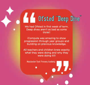 Ofsted deep dive for computing